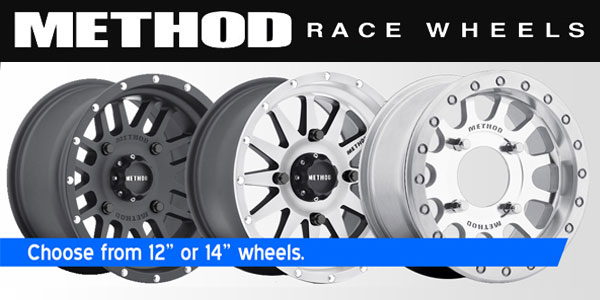 Explore our in stock method utv wheels at Penasco Point Parts.