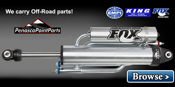 Select the correct FOX shocks for your truck and off road vehicle.