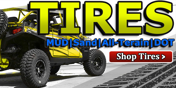 We offer free shipping on all of our utv and sand tires.