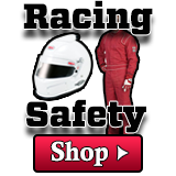 Free shipping on all of our racing safety equipment in stock.