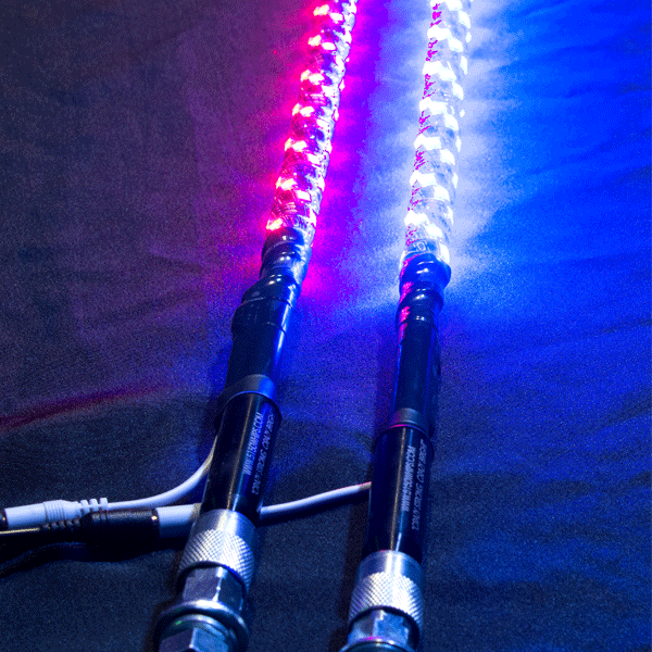 5150 Whips 4 Foot LED Whip with Remote