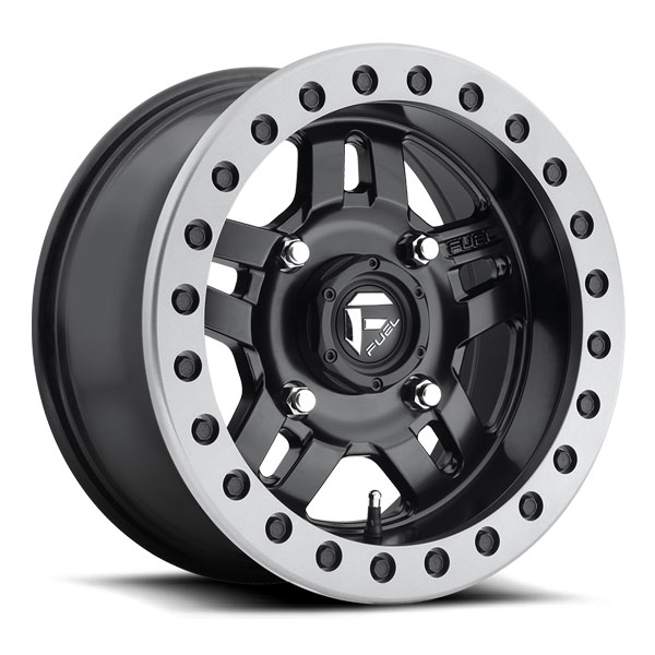 Fuel Utv Beadlock Wheels Anza D917 Black 15 Inch