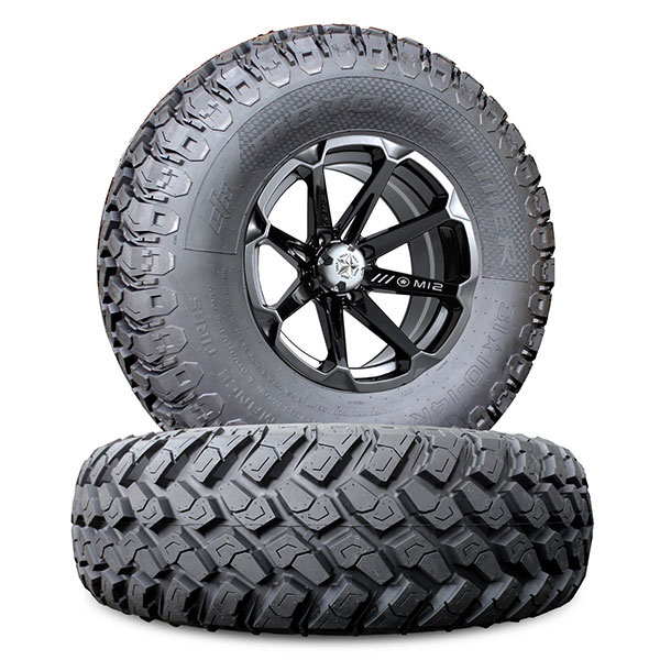 14 inch msa m12 diesel w 27 inch motohammer wheel tire kit. Black Bedroom Furniture Sets. Home Design Ideas