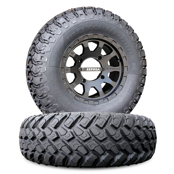 14 Inch Msa F2 W 31 Inch Motohammer Wheel Amp Tire Package