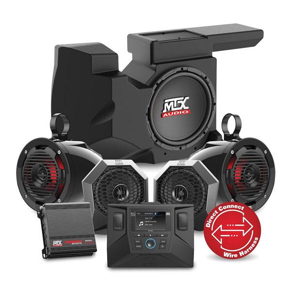 RZR 4 Stereo Packages - Speaker Kits for RZR 4