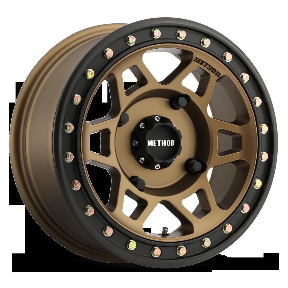 Method Mr405 Beadlock Wheel Bronze
