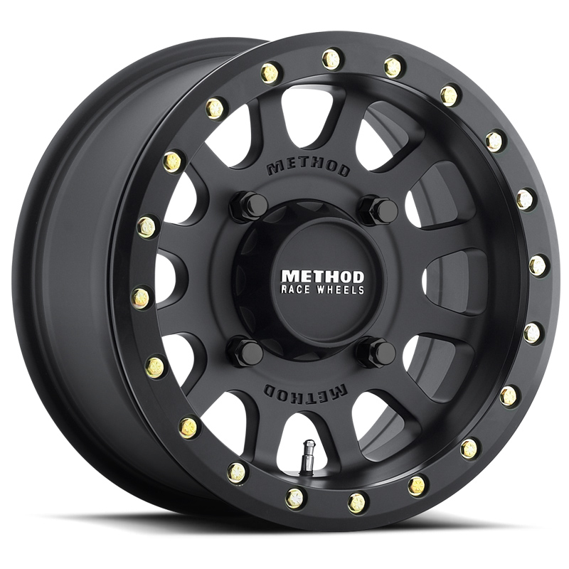 Method UTV Wheel 14 Inch Beadlock 401 Black