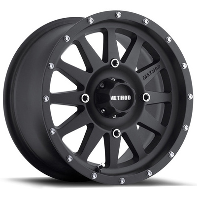 Method Standard UTV Wheel 12 Inchx7 Inch Black