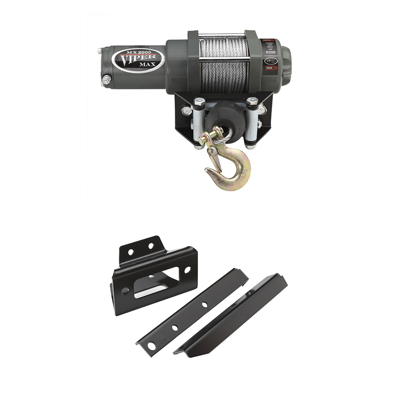 Polaris Rzr 570 800 800s Viper Max Winch Kit