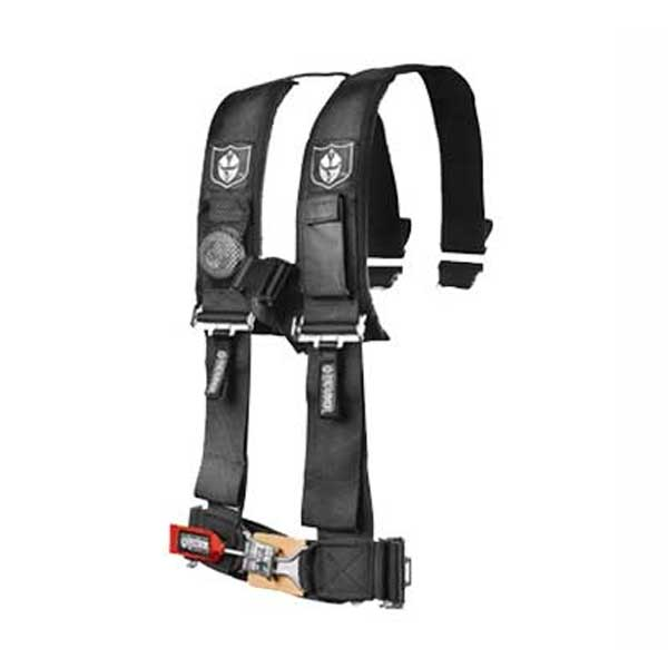 Pro Armor Black 3x3 4-Point Standard Latch Harness