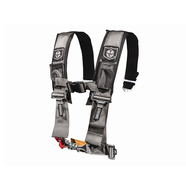 Pro Armor 3 Inch 4 Point Silver Harness