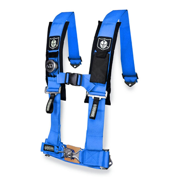 Pro Armor Voodoo Blue 3 Inch 4 Point Sewn Harness